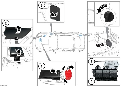jaguar fuse box location wiring diagram sys Jaguar XJL