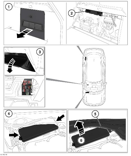 Land Rover Fuse Box Location
